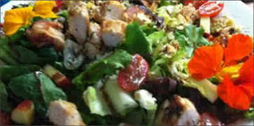Tuscan Chicken Gorgonzola Salad