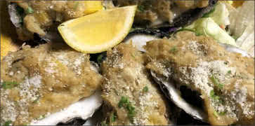 Crab Stuffed Oysters