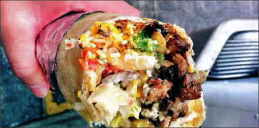 California Sisig Burrito