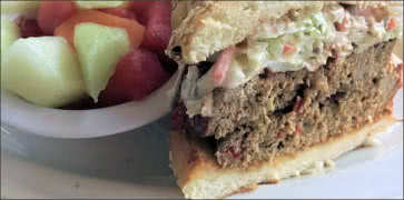 BBQ Meatloaf Sandwich Special
