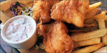 Pacific Cod Fish and Chips - Gluten Free