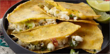 Soft-Shell Crab Quesadilla