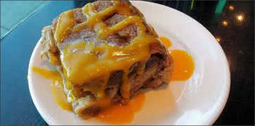Plantain Bread Pudding