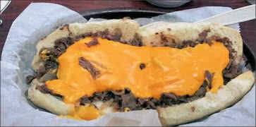 Steak Hogie with Cheese and Onions