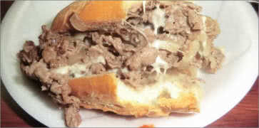 Sonnys Famous Steak Hogies Food