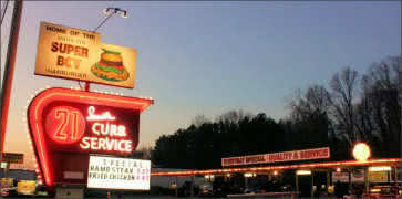 South 21 Drive-In in Charlotte