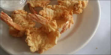 Southern Fried Prawns