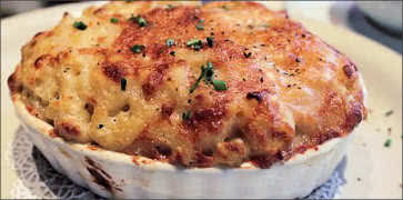 Mac and Cheese with Fontina and Parmigiano