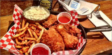 Stockyards Fried Chicken Dinner