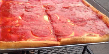 Sicilian Square Pizza