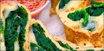 Spinach Cheese Stromboli