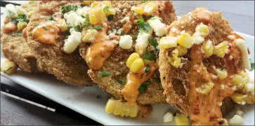 Fried Green Tomatoes with Feta