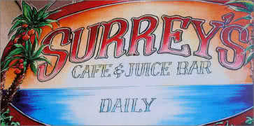 Surreys Cafe and Juice Bar in New Orleans