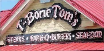 T-Bone Toms in Kemah