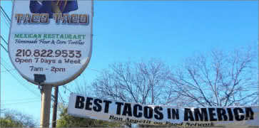 Taco Taco Cafe in San Antonio