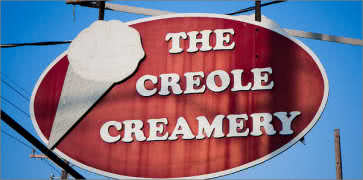 The Creole Creamery in New Orleans