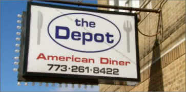The Depot American Diner in Chicago