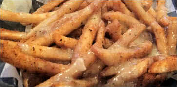 Fries with Buzzard Gravy