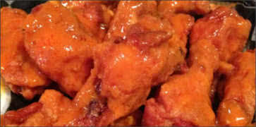 Medium Saucy Buffalo Wings