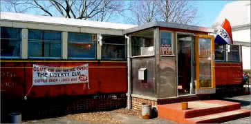The Liberty Elm Diner in Providence