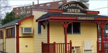 The Little Depot Diner in Peabody