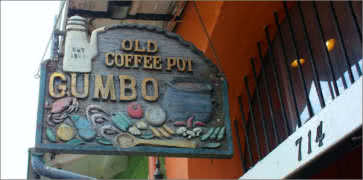 The Old Coffee Pot in New Orleans