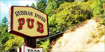 The Russian River Pub in Forestville