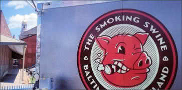 The Smoking Swine in Baltimore