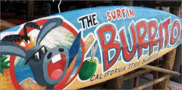 The Surfin Burrito in Cancun