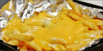 Three Cheese Fries