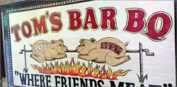 Toms Bar-B-Q in Memphis