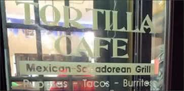 Tortilla Cafe in Washington