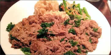 Kalua Pork with Kale