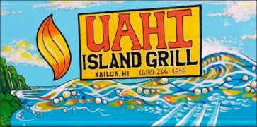 Uahi Island Grill in Kailua