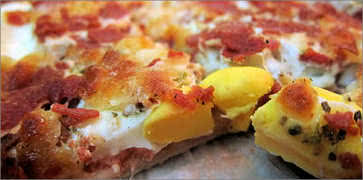 Egg Pizza Slice
