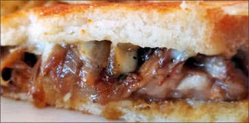 Rock Candy Short Rib Grilled Cheese Sandwich