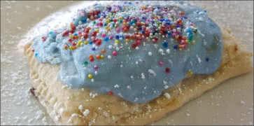 Homemade Blueberry Pop Tart