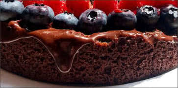 Chocolate and Berry Torte