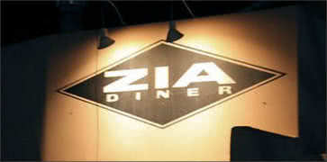 The Zia Diner in Santa Fe